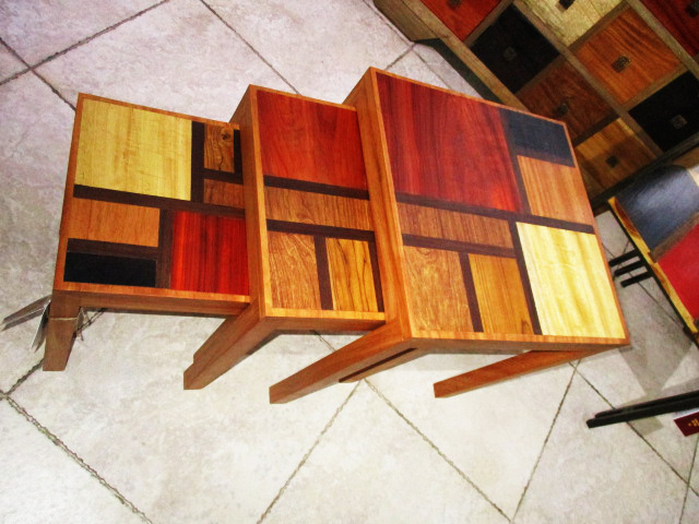 tables gigognes mondrian