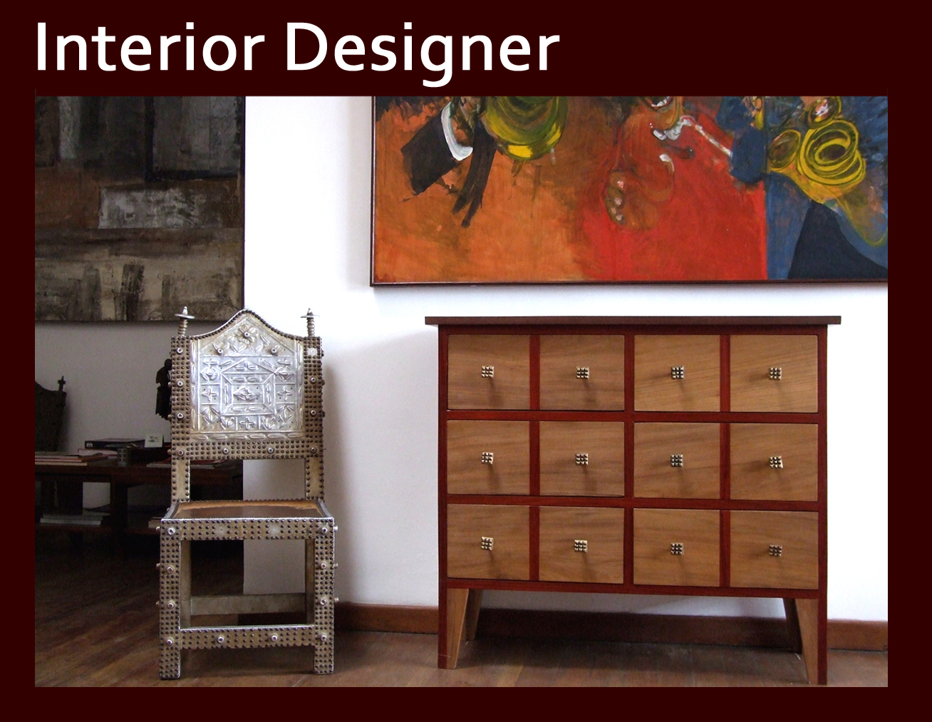 Design English Galerie Arte # Wooden Art Meuble Tv
