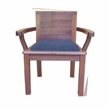 fauteuil guédel, dossier court