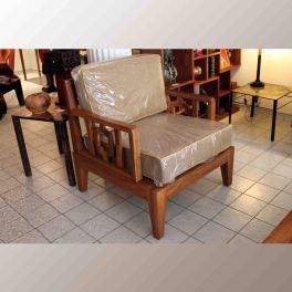 fauteuil niokolo en bois de veine