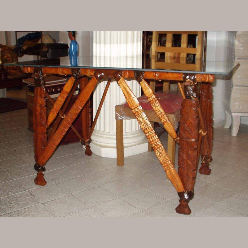 bureau en piétement chameau