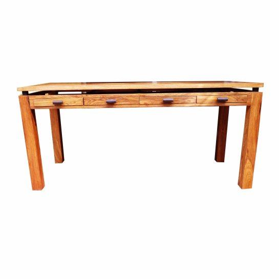 bureau yacine en bois de veine, 4 tiroirs