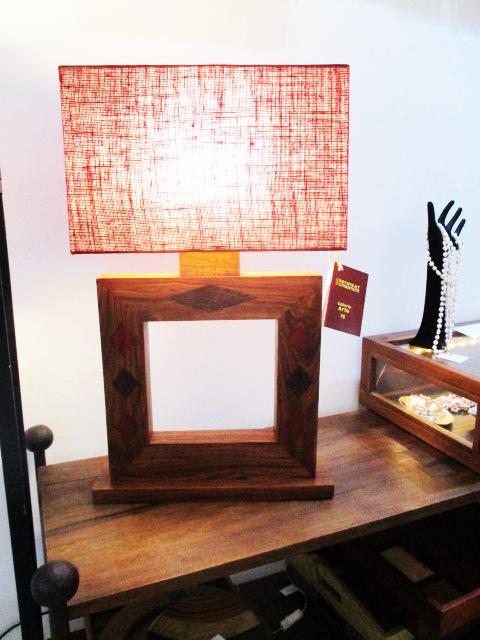 lampe carré das