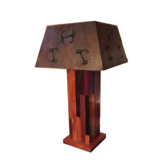 lampe multibois abat jour en bois 2
