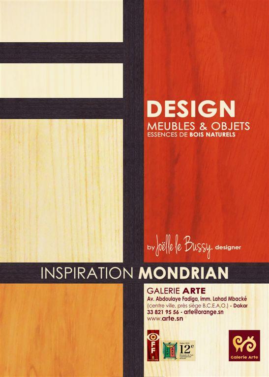 Affiche Mondrian 3
