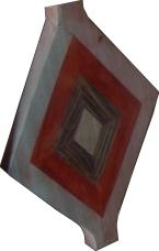 motif triangle Baka