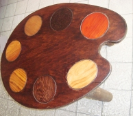table palette d'artiste