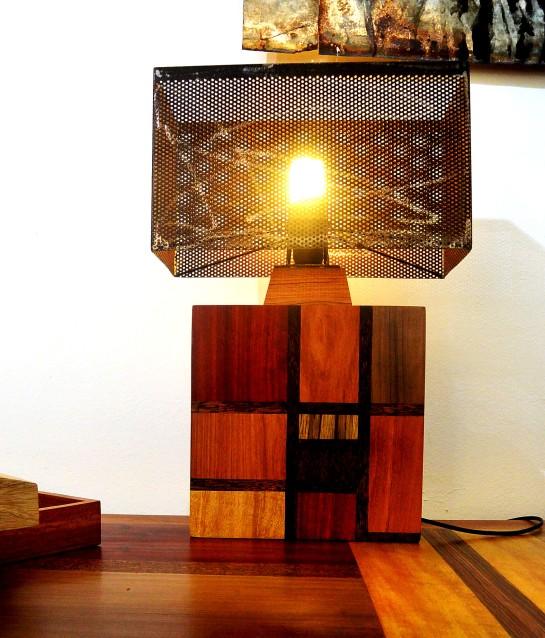 lampe carré mondrian