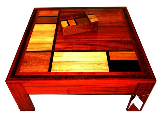 table basse mondrian