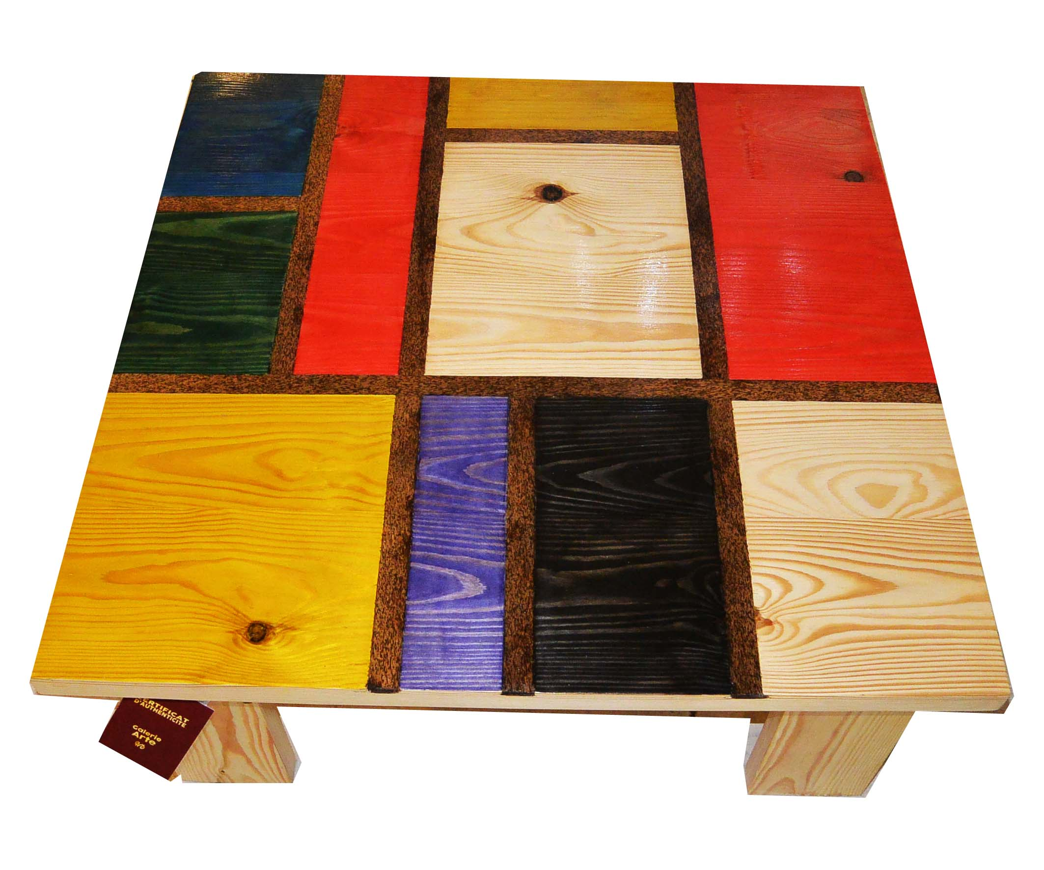 table fushine mondrian