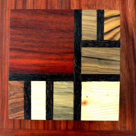 boite Mondrian carrée